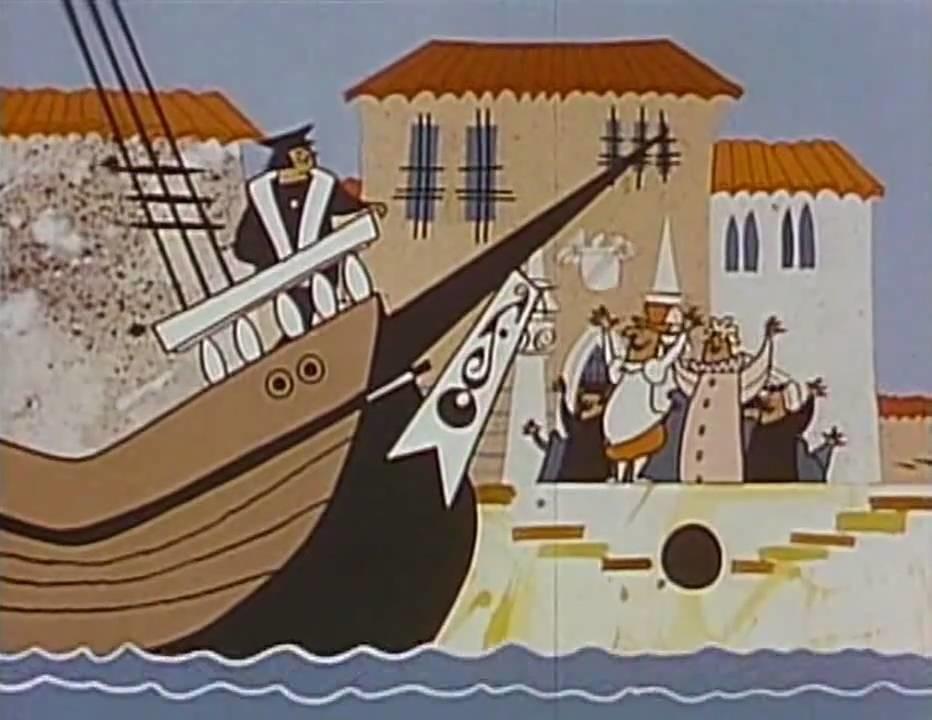 COLOMBO-FILM-1960-Cartoons
