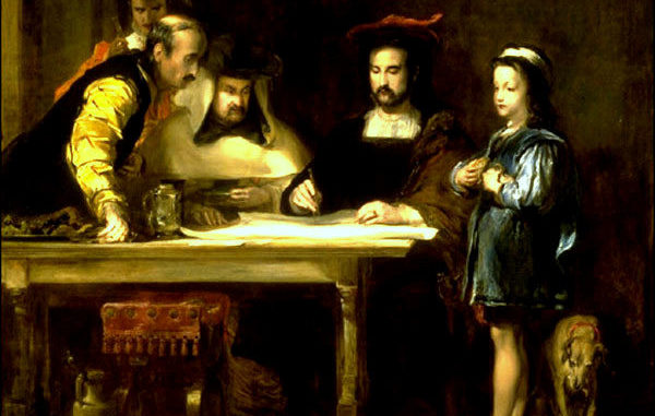 COLOMBO-ARTE-Wilkie-Christopher-Columbus-in-the-Convent-of-la-Rabida-explaining-his-intended-voyage-600x381