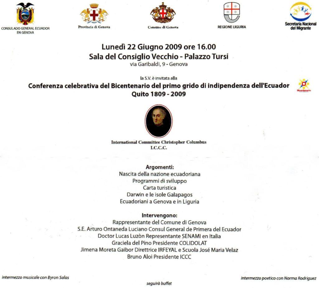 CONVEGNO-ECUADOR-Splendide-ragazzze-ecuadoriane-accoglienza-partecipanti-ed-invitati.  CONVEGNO-ECUADOR-Console-Ontaneda-e-Bruno-Aloi-doc  CONVEGNO-ECUADOR-Elisa-Franzettti-soprano  CONVEGNO-ECUADOR-Domenico-Alfano-flauto-e-al-piano  Conferenza-sullEcuador  CONFERENZA-ECUADOR-Programma-1024x923