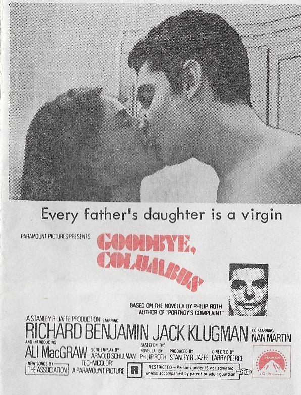 FILM-1969-Goodbye-Columbus-foto-2