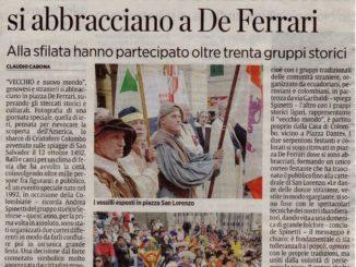 IL-SECOLO-XIX-Genova-Lunedì-10-ottobre-2016-Il-Vecchio-e-il-Nuovo-Mondo-si-abbracciano-a-De-Ferrari.-326x245