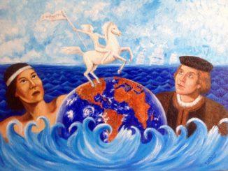 MOSTRA-SAVONA-MARIA-LATORRE-di-Aruba-dipinto-preso-come-simbolo-della-Mostra-326x245