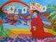 MOSTRA-SAVONA-Terrana-La-conquista-del-Paradiso-tempera-su-tela-80x60