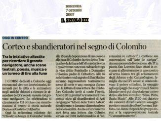 ARTICOLI-IL-SECOLO-XIX-Domenica-7-ottobre-2007-Corteo-e-sbandieratori-nel-segno-di-Colombo-326x245
