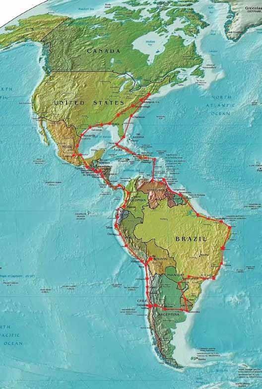 Aereo-pro-Colon-El-vuelo-panamericano-carta-geografica