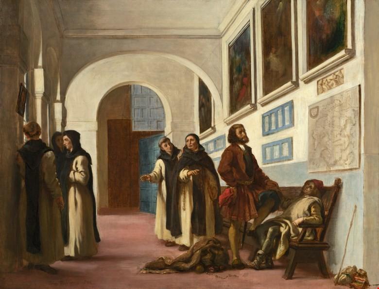 COLOMBO-ARTE-Christopher-Columbus-and-His-Son-at-La-Rabida