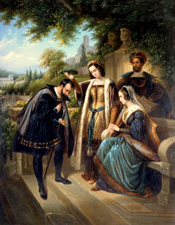 COLOMBO-ARTE-pittore-inglese-Enry-Nelson-ONeil-1817-1880-Queen-Isabella-and-ColumbusWolverhampton-Art-Gallery-West-Midlands-UK