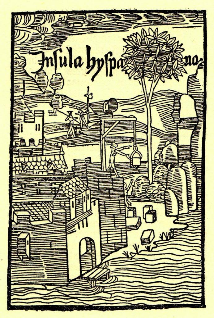 COLOMBO-De-insulis-in-mare-Indico-nuper-inventis-Insula-Hispa-na-DOC-692x1024
