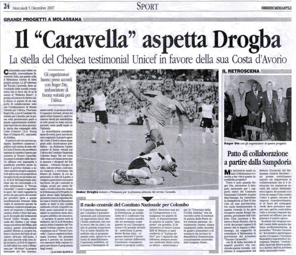 ARTICOLI-CORRIERE-MERCANTILE-Mercoledì-5-dicembre-2007-Il-Caravella-aspetta-Drogba.-1024x884