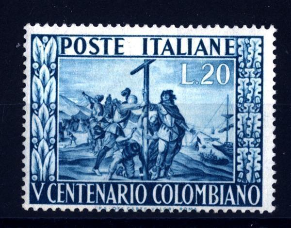 COLOMBO-ARTE-Palazzo-Ducale.-Cappella-privata-del-Doge-1024x666  COLOMBO-ARTE-Italia-Repubblica-1951-5°-centenario-della-nascita-di-c.C.-20-Lire