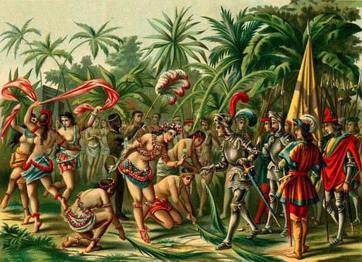 COLOMBO-ARTE-ANACAONA