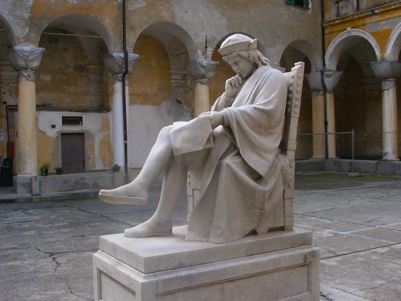 LICEO-COLOMBO-statua