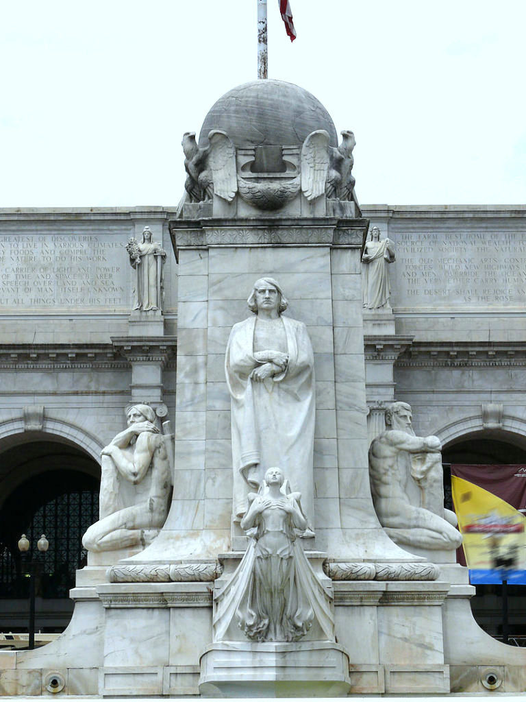 Lorado-Zadoc-Taft-scultore  COLOMBO-MONUMENTO-WASHINGTON-doc-doc-doc-5-1024x500  Washington-COLOMBO-MONUMENTO-WASHINGTON-Doc-4-768x1024-768x1024
