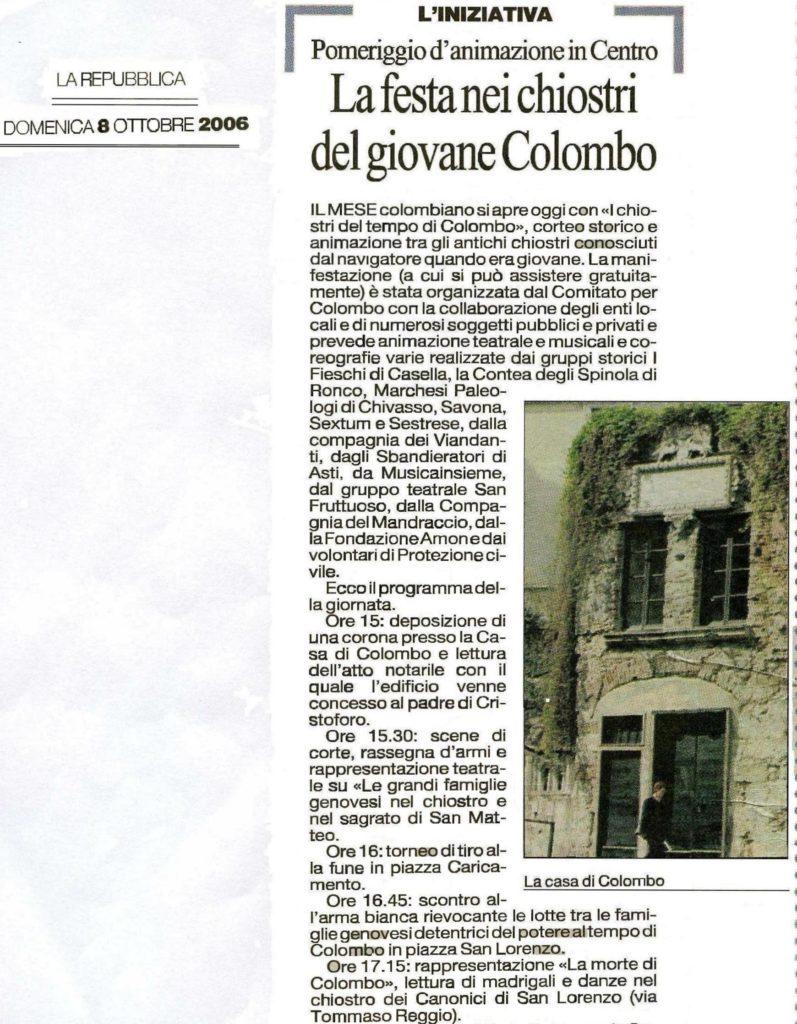 CHIOSTRI-2006-copertina-672x1024  CHIOSTRI-2006-volantino-a-538x1024  CHIOSTRI-2006-volantino-12-ottobre-538x1024  CHIOSTRI-2006-ARTICOLI-LA-REPUBBLICA-8-ottobre-2006-La-festa-nei-chiostri-del-giovane-Colombo-797x1024