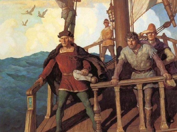 Wyeth-Colombo-vede-il-Nuovo-Mondo.-678x509