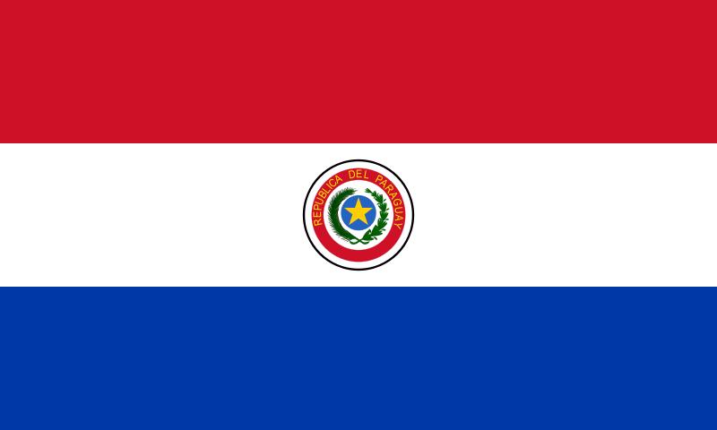 Paraguay-bandiera