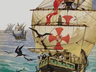 Angus-Angus-McBride-El-primer-viaje-de-Critóbal-Colón-1492-326x245