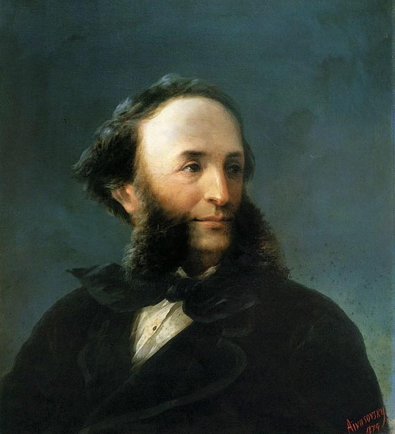 Iwan-Konstantinowitsch-Aiwasowski-columbus-sailing-from-palos  Aivazovsky_-_Self-portrait_1874