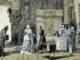 Antonio-Munoz-Derain-doc-la-reina-cedere-sus-joyas-para-la-empresa-de-colon-grabado-coloreado-de-la-ilustracion-espaola-y-americana--80x60