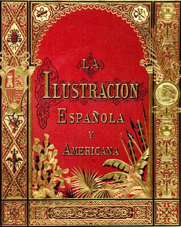 Antonio-Munoz-Derain-doc-la-reina-cedere-sus-joyas-para-la-empresa-de-colon-grabado-coloreado-de-la-ilustracion-espaola-y-americana--1024x700  La-Ilustración-Española-y-Americana