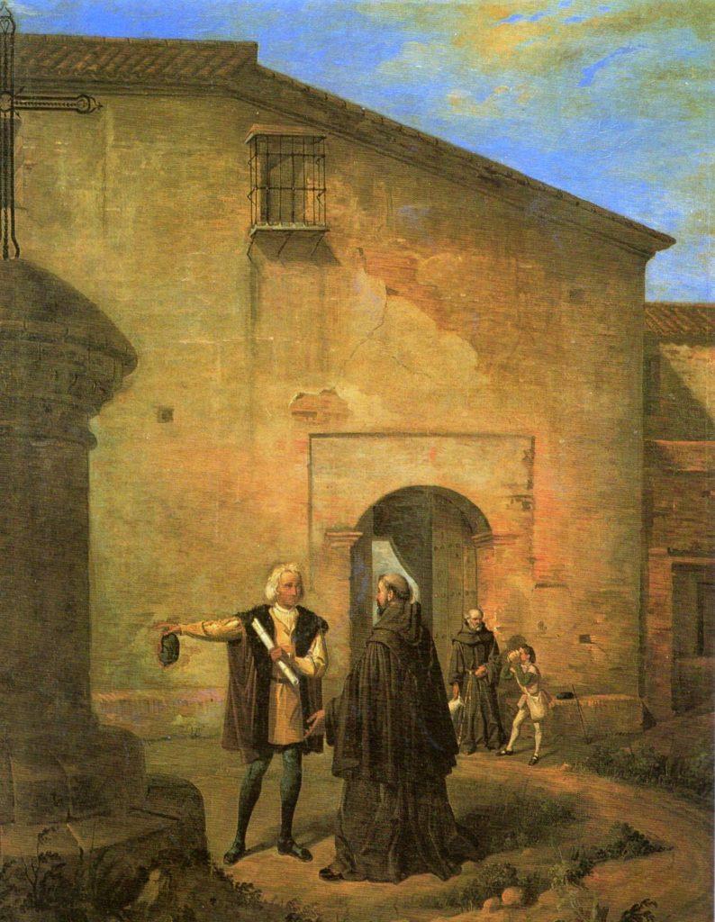 Antonio-Cabral-Bejarano-Monastero-di-Santa-Maria-della-Rabida-Huelva-794x1024