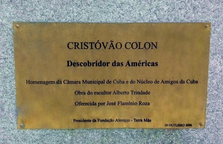 Alentejo-Cuba-statua  Alentejo-mezzo-busto-1024x683  Alentejo-Cuba-Doc-targa-Cristovao-Colon-Cuba-scultore-Alberto-Trindade