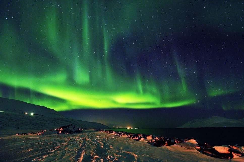 Akureyri-porticciolo  AKUREYRI-Mostra