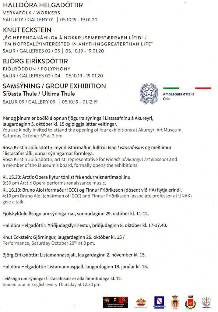 Akureyri-porticciolo  AKUREYRI-Mostra  Silvana-logo-dellAkureyri-Art-Museum.-Si-possono-usare-sia-il-nero-che-il-rosso.  AKUREYRI-ART-MUSEUM-768x1024  AKUREYRI-Sito-neve  Akureyri-Mostra-Eratostene  Akureiry-Prima_Europe_tabula-1024x733  Akureiry-Carta-Marina-1532.-1024x778  Akureyri-Mostra-logo-Ambasciata  AKUREYRI-LOGO-REGIONE-CAMPANIA  Akureyri-Patrocinio-Regione-Liguria-632x1024  AKUREYRI-Regione-Liguria-logo  Akureyri-Logo-Comune-di-genova  AKUREYRI-Patrocinio-Comune-di-SAVONA-676x1024  Akureyri-logo-doc-Savona  AKUREYRI-Diano  Akureyri-logo-Diano_San_Pietro-Stemma-1  AKUREYRI-Manifesto  AKUREYRI-Sito-1024x704  AKUREYRI-Sito-2-716x1024