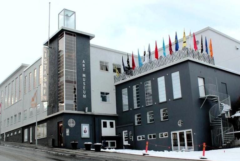 Akureyri-porticciolo  AKUREYRI-Mostra  Akureyri-Art-Museum-doc