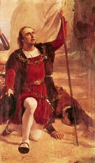 Eduardo-Llorens-Masdeu-1837-1912.-Sbarco-di-Colombo-in-America.-1880.-Maritime-Museum.-Barcelona.