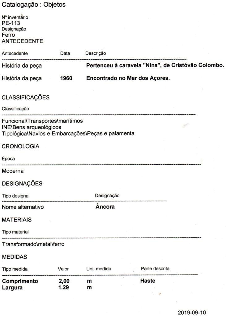 Azzorre-DOC-Nina-le-tre-ancore-viste-frontalmente  AZZORRE-Ancore-Nina-C.Colombo  Azzorre-Museu_de_Marinha_Lissabon_Eingang_September_2014-738x1024  AZZORRE-ancora-Nina-al-Museo-688x1024  Azzorre-lettera-Vanda-Maria-Pereira-717x1024  Azzorre-113-731x1024