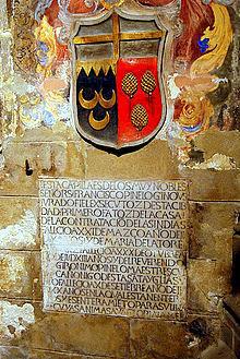 PINELLI-SIVIGLIA-Casa-Pinelos-facciata  PINELLI-lapide-con-scudo-Pinelo-capilla-del-Pilar-Cattedrale-Siviglia